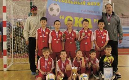 Юные алексинские футболисты отличились в Ярославле