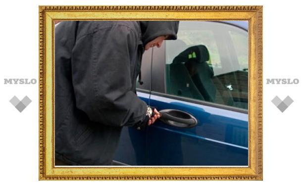 В Киреевске поймали автовора