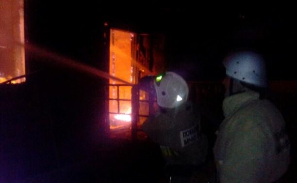 В деревне Комаревка сгорела дача