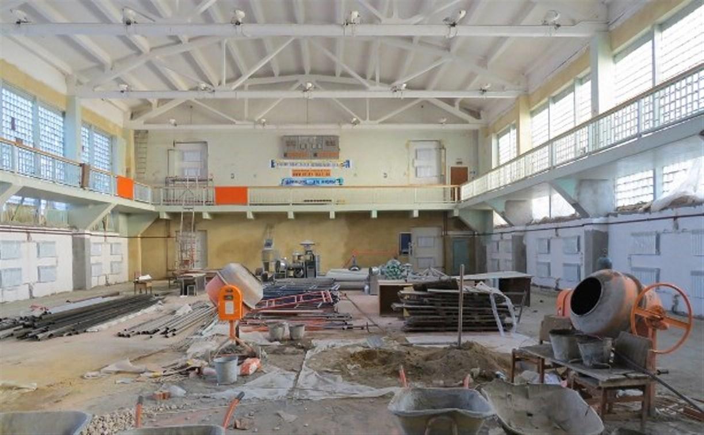 Ремонт в спортшколе на ул. Жуковского закончится к 1 сентября 2015 года