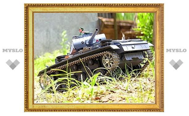 В Тульский кремль войдут танки