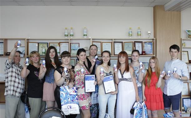Тульский молочный комбинат наградил любителей йогурта ценными призами