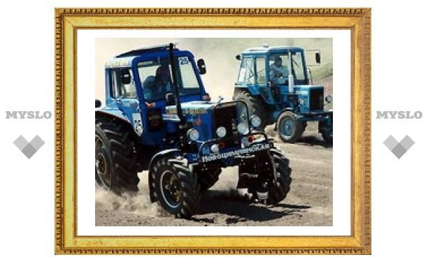 Туляки устроят гонки на тракторах