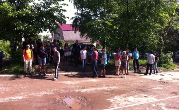 Толчок работники офисов на Рязанской, 1 почувствовали в 9.40