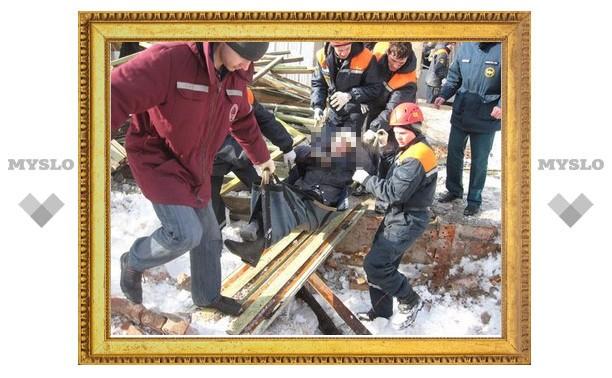 В шахте под Тулой погиб расхититель металла?