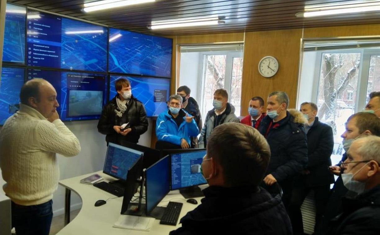 Представителям семи регионов России продемонстрировали интеллектуальную транспортную систему Тулы