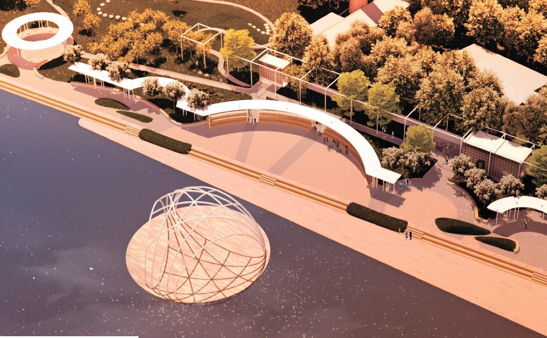 Как будет выглядеть обновленная набережная Богородицка: эскизы проекта