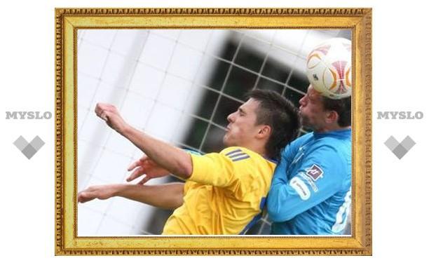 «Зенит» проиграл белорусскому клубу