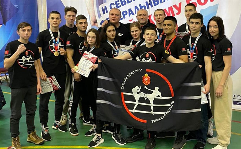 Тульские спортсмены завоевали путевки на чемпионат и первенство России по тайскому боксу