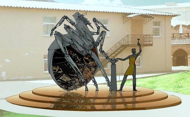 Скульптура «блохи-киборга» появится в «Ликёрке Лофт»