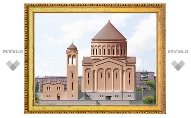 На высотной точке Еревана возведут массивный храм