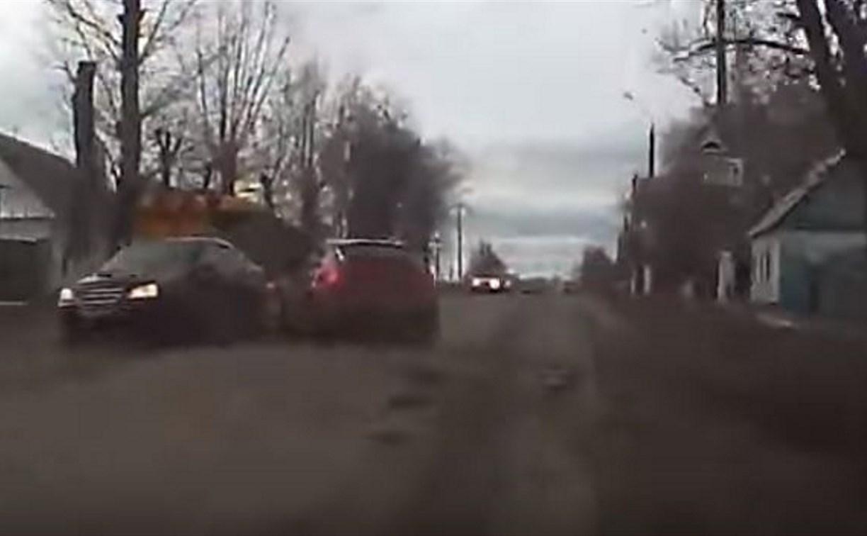 В Богородицке лишенный прав водитель устроил массовое ДТП