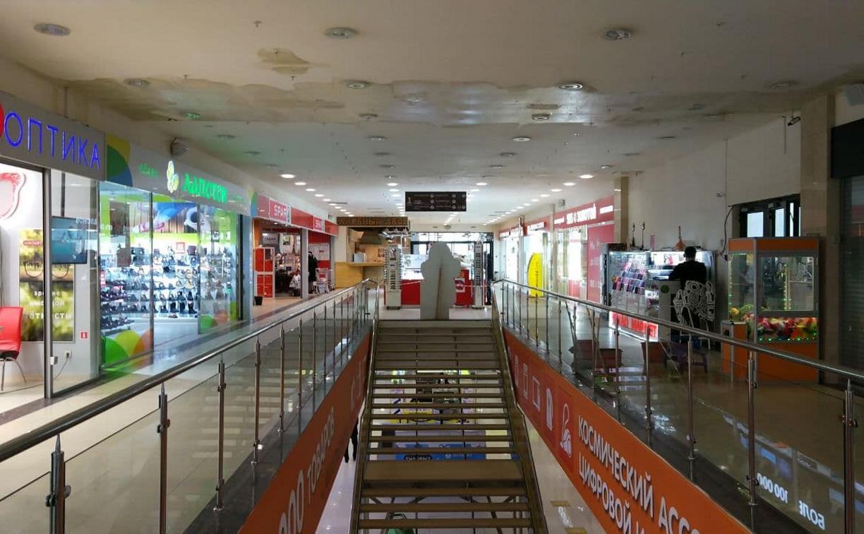 В Туле затопило торговый центр «Рио»