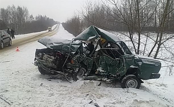 На автодороге Тула-Белев произошло два серьезных ДТП