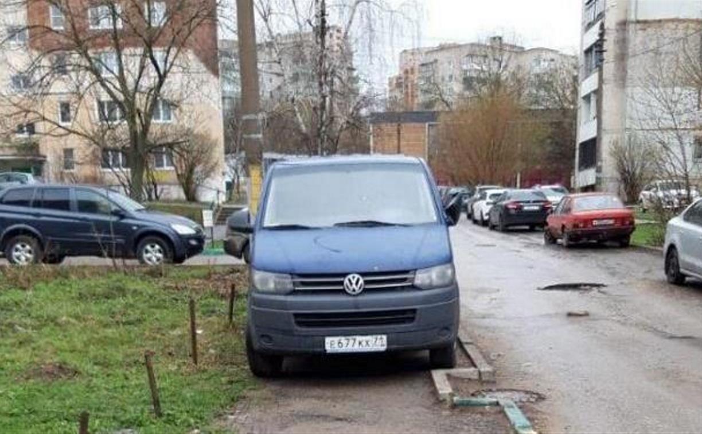 «Накажи автохама»: тульская ГИБДД научила героев публикаций правильно парковаться