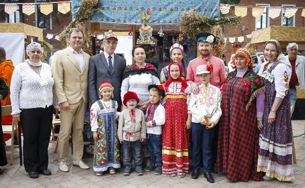 В Туле прошел фестиваль «Национальный квартал»