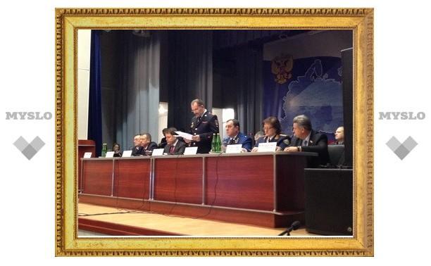 """Прокурор Олег Черныш: """"Тульская полиция укрыла 1179 преступлений"""""""