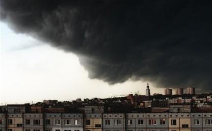 Очередное штормовое предупреждение в Тульской области