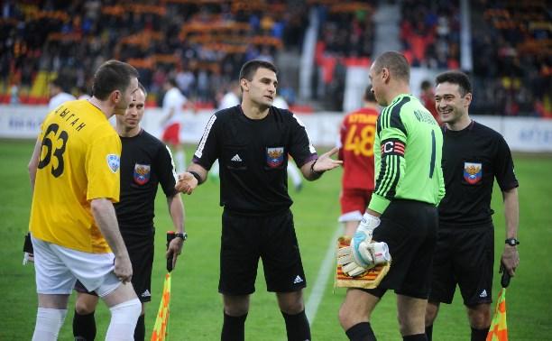 «Арсенал» во Владивостоке будет судить Алексей Сухой