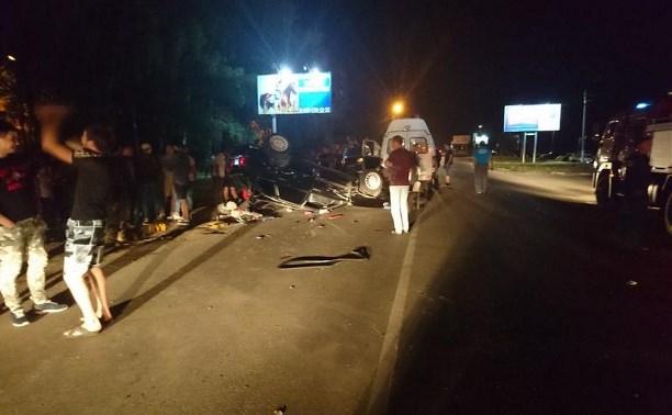 В ДТП в Алексине пострадала 16-летняя девушка
