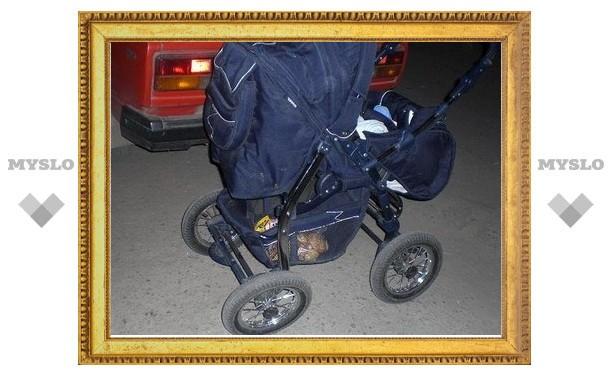 Под Тулой угнали детскую коляску