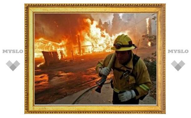 В штате Калифорния объявлена эвакуация из-за лесных пожаров