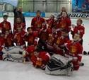 Юные алексинские хоккеисты вошли в десятку лучших команд страны