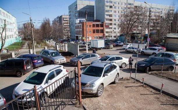 Туляки будут платить 30 рублей за час на городской платной парковке