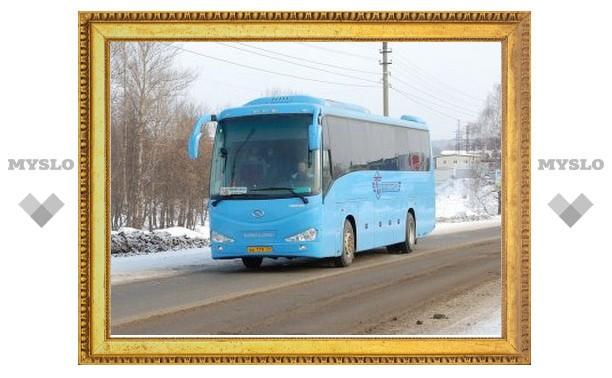 Причиной аварии автобуса под Тулой могли стать погодные условия