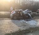 В Тульской области в страшном ДТП погибли двое мужчин