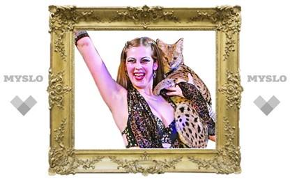 В Новомосковск привезли диких африканских котов