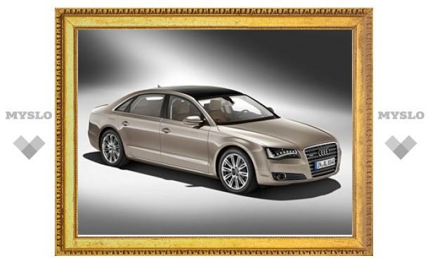 Удлиненная версия Audi A8 получит 12-цилиндровый мотор