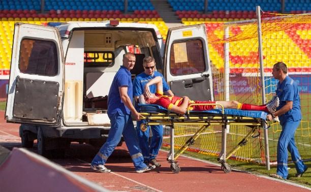 Врач «Арсенала» надеется на скорейшее восстановление Александра Димидко