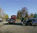 На Московском шоссе произошло серьезное ДТП
