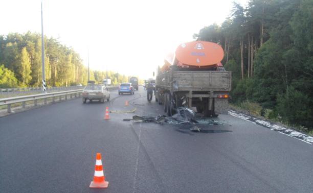 В ДТП с маршруткой на трассе М2 погиб молодой парень