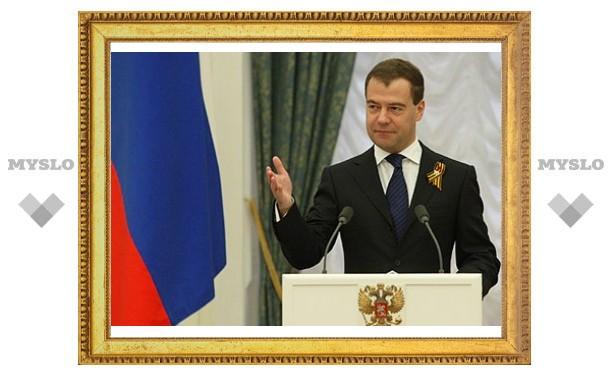 Владимир Груздев встретился с Дмитрием Медведевым