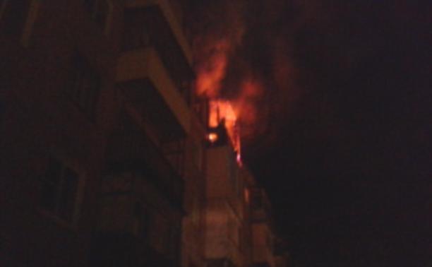 В Новомосковске мужчина устроил пожар, забыв потушить сигарету