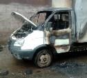 Утром на Косой Горе сгорела грузовая «Газель»
