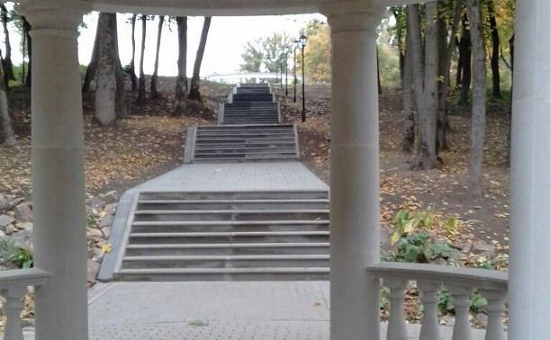 Пандусов в Платоновском парке не будет