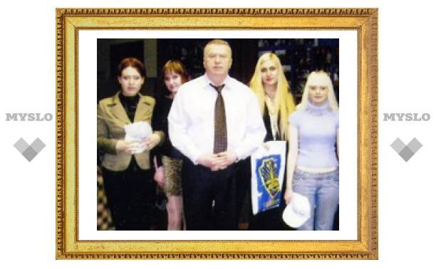 Тульские студенты побывали в гостях у Жириновского