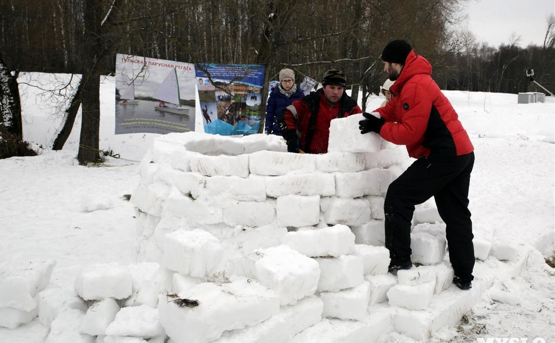 Туляков приглашают на соревнования по постройке снежных хижин «Золотая иглу»