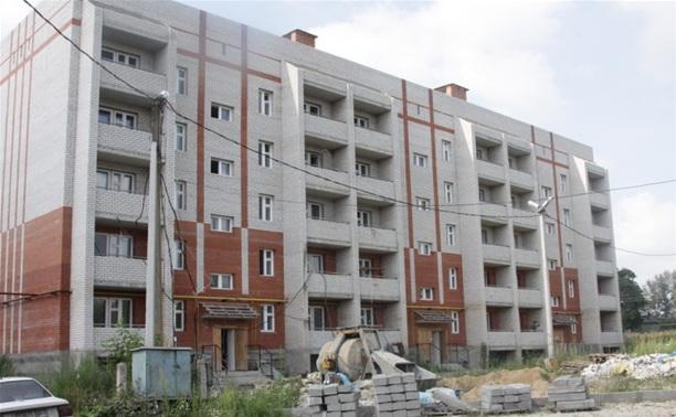 В Белёве готовится к сдаче в эксплуатацию 45-квартирный жилой дом
