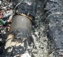 Во время пожара на теплотрассе в Ясногорске погиб человек