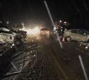 На трассе в Тульской области в лобовом столкновении погибла женщина
