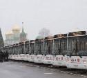 Как будет ходить транспорт в рождественскую ночь в Туле?