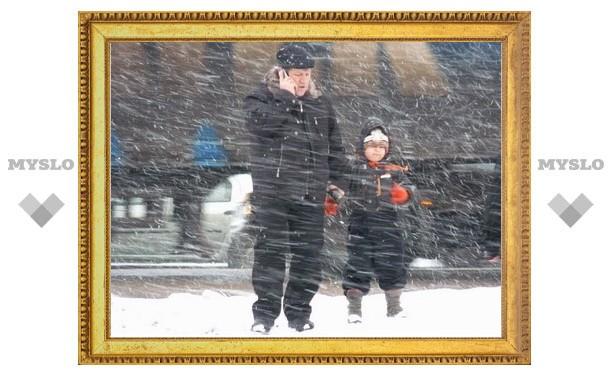 В Тулу в среду придет настоящая зима