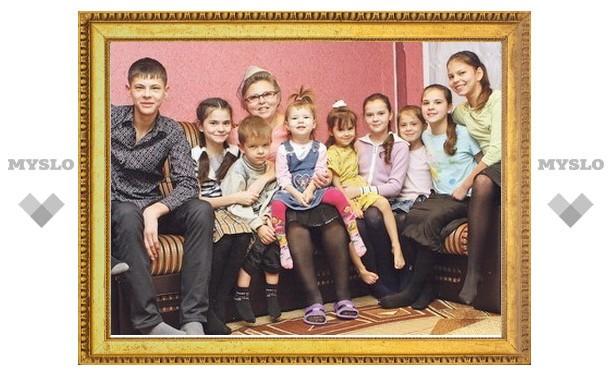 Многодетные семьи получат региональный капитал уже в этом году
