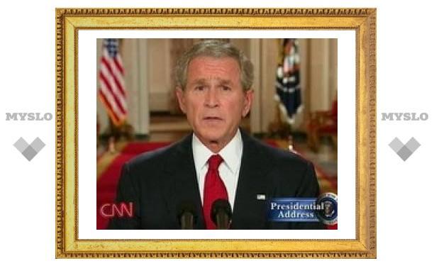 """Джордж Буш: США может """"сорваться во всеобщую финансовую панику"""""""