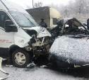 Под Тулой в серьезное ДТП попал пассажирский автобус
