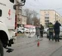В Туле на выезде из больницы столкнулись внедорожник и легковушка